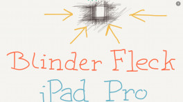 iPad Pro: Blinder Fleck