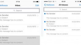 iOS-Datumsfehler schickt Mails aus den Siebzigern