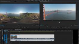 Adobe Premiere Pro CC gibt VR-Inhalte aus