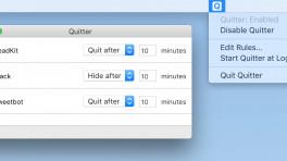 Quitter hilft gegen Mac-Ablenkungen