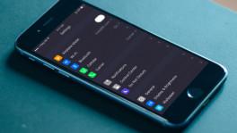 Nachtmodus iOS 10