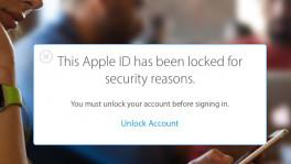 Apple ID gesperrt