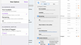 Task Manager OmniFocus verschlüsselt Datenbank