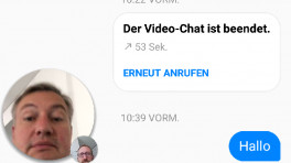 Facebooks Messenger überträgt Live-Video-Chats