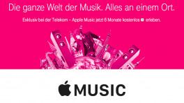 Apple Music bei der Telekom