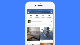 Facebook startet Online-Flohmarkt