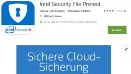 Intel File Protect droht mit Datenverlust