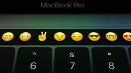 Touch Bar mit Emoji-Ansicht