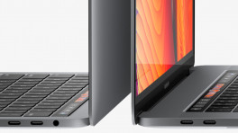 MacBook Pro mit Thunderbolt-3-Anschlüssen