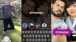 """Instagram-App mit neuen Stories-Funktionen und integriertem """"Boomerang"""""""