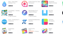 Apple sammelt Apps mit Touch-Bar-Unterstützung