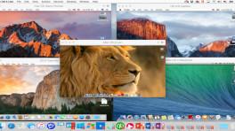 Parallels Desktop sortiert virtuelle Maschinen in Tabs