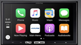 Wireless CarPlay bei Alpine