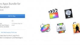 Apple-Profi-Apps im Paket für Bildungskunden