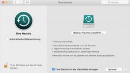 macOS-Backup-Lösung Time Machine: Netzwerksicherungen machen Ärger