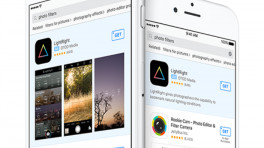 App Store mit Werbung