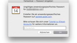 Apple macht App-spezifische Passwörter für iCloud zur Pflicht
