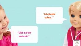 Dialog zwischen Kind und Cayla (Werbesujet)