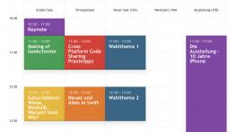 Entwicklerkonferenz Macoun: Vortragsprogramm per App gestalten