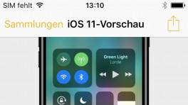 iOS 11 Vorschau