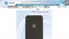 iPhone X Tenaa
