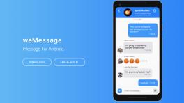 weMessage will iMessages auf Android bringen