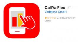 Vodafone CallYa Flex: Tarif-App funktioniert auf dem iPhone nicht mehr