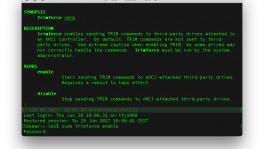 Trim SSD Mac