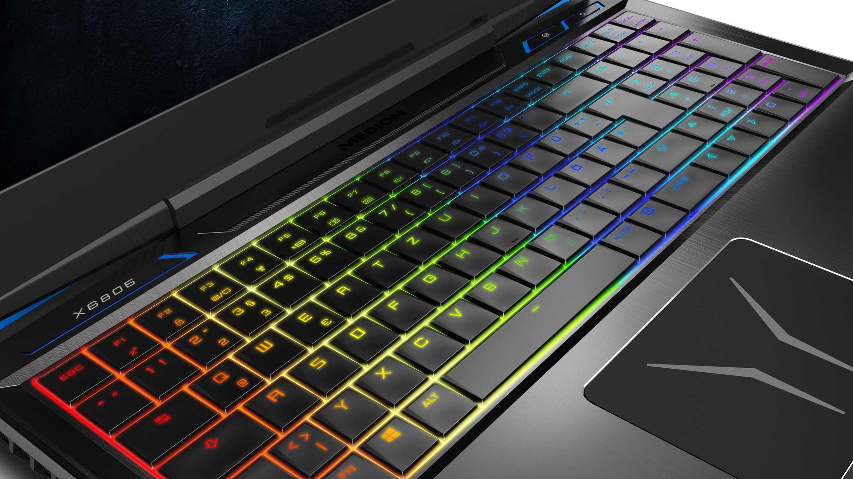 Medion Erazer X6805: Gaming-Notebook bei Aldi Süd