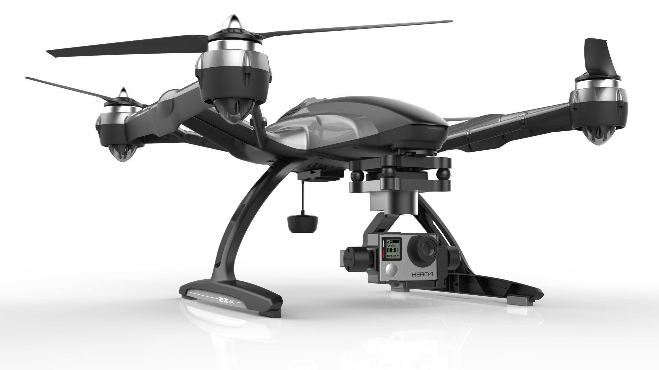 Yuneec: Quadrocopter GoPro-Hero-Kameras