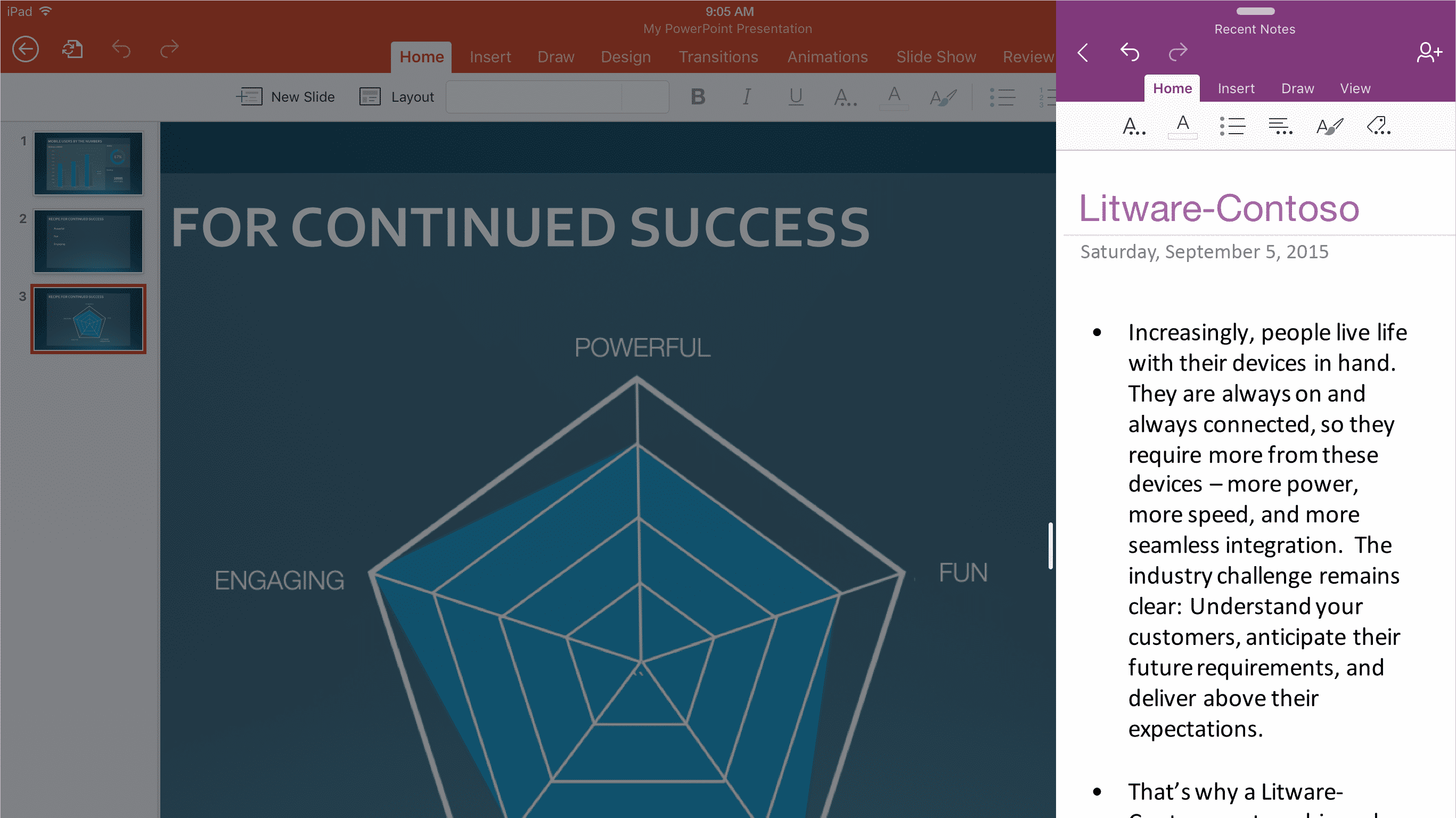 Angepasst: Microsoft veröffentlicht optimierte Office-Apps fürs iPad Pro