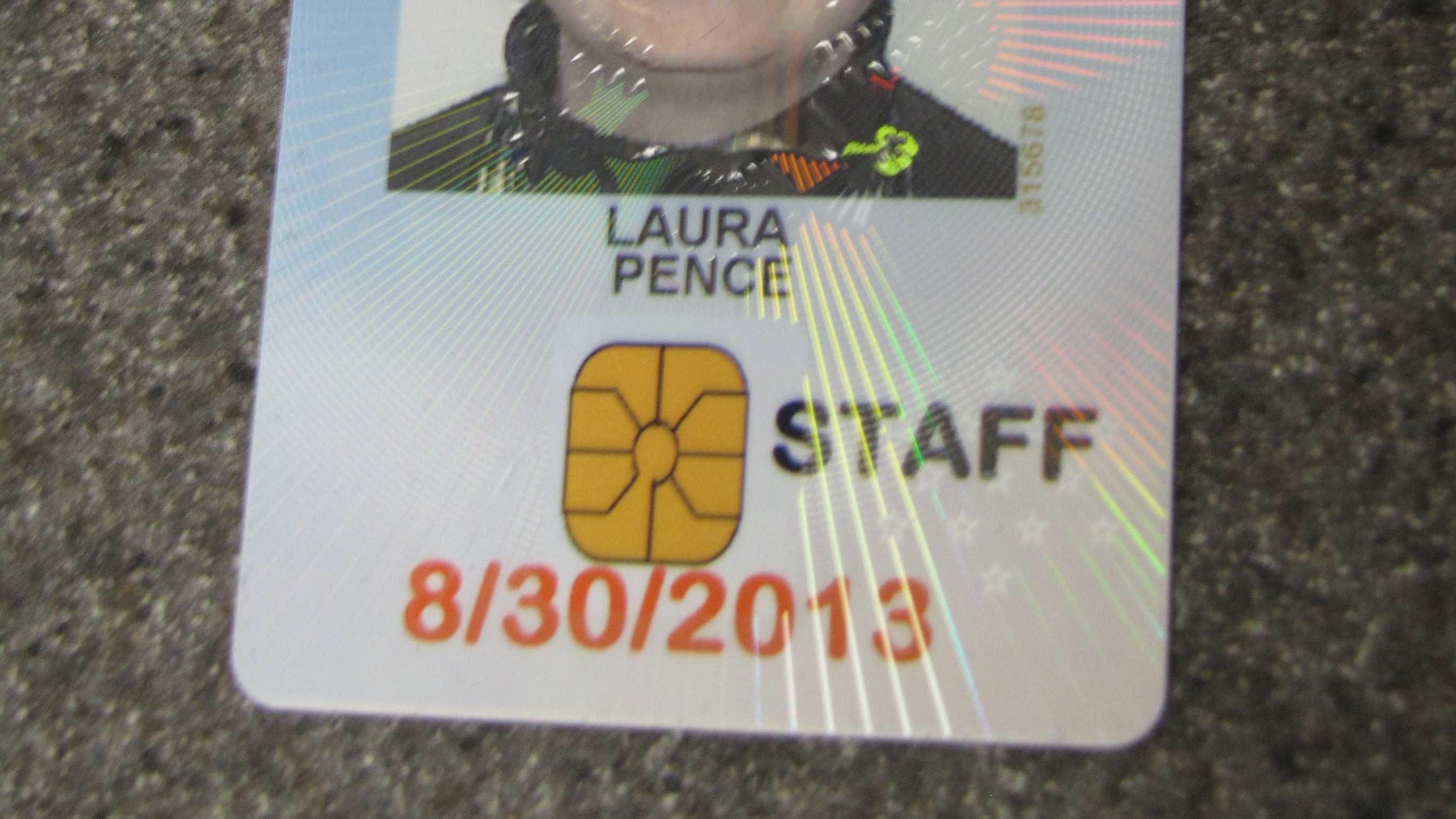 Zugangskarten zum US-Senat: Bild eines Smart-Chips statt Smart-Chip