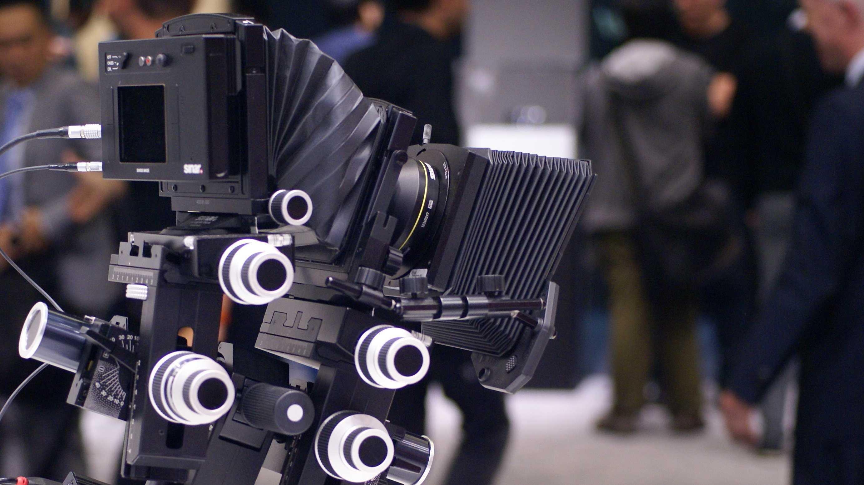 Sinar Digitalback S 3045 mit Video und Adapter für Leica S-Objektive