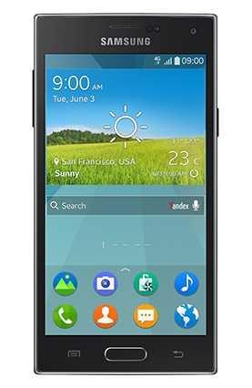 Das erste Smartphone mit Tizen ist das Samsung Z.