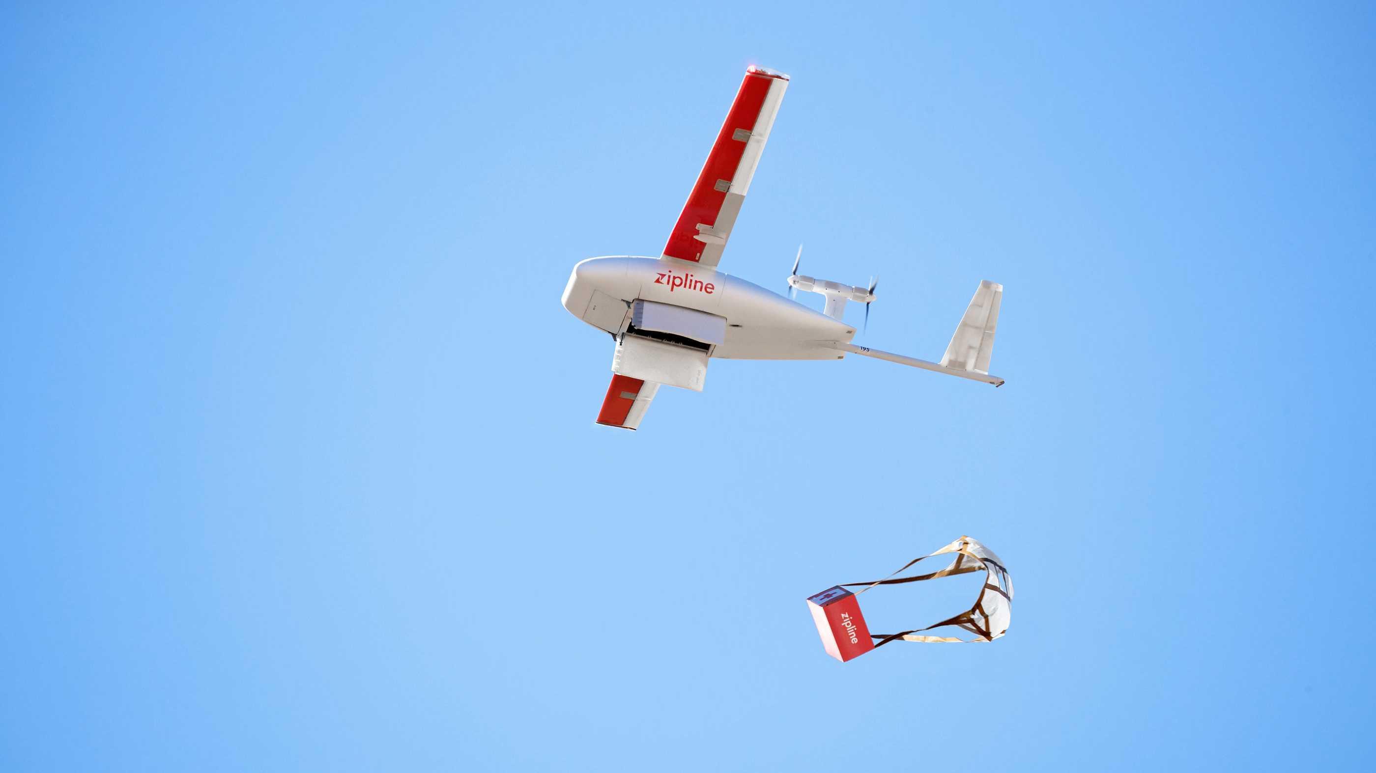 Hilfe aus der Luft: Drohnen in Ghana bringen lebensrettende Medizin