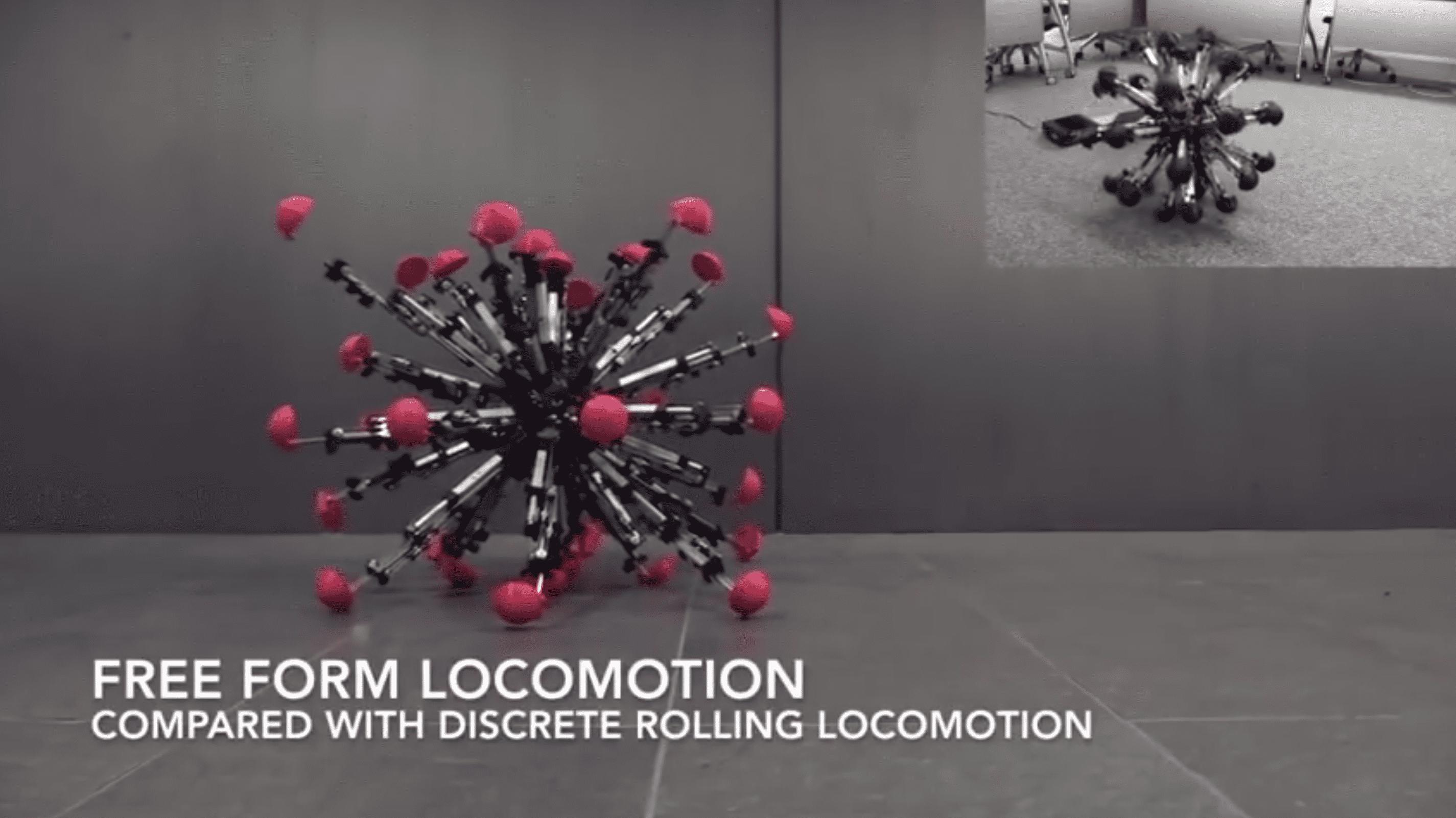 Neue Ideen für mobile Roboter: Hüpfefrosch und Krabbelkugel