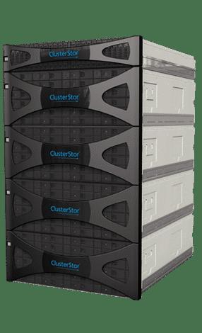 Kann mit riesigen Datenmegen umgehen: ClusterStor-Speichersystem von Seagate.