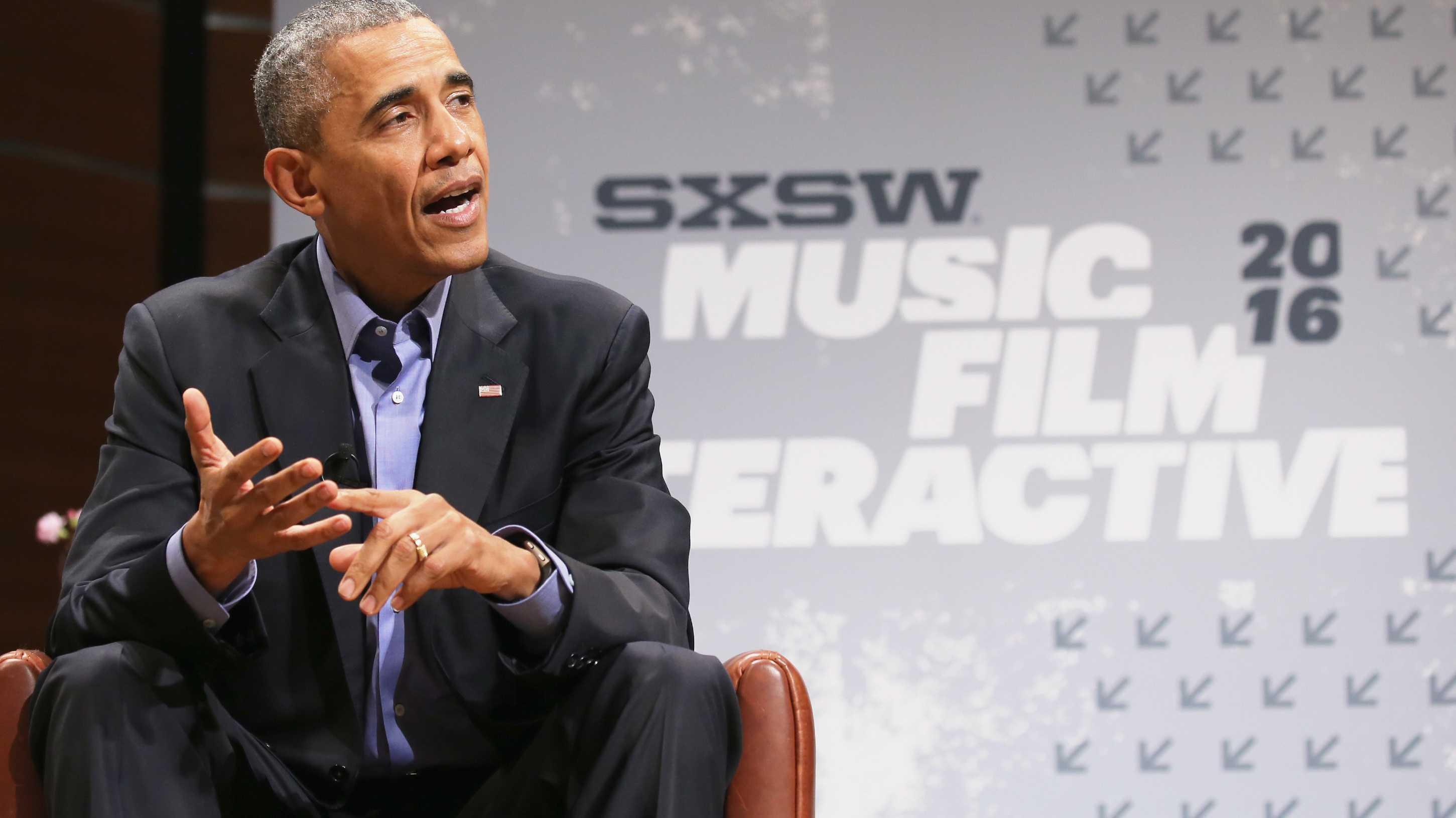 Barack Obama auf der SXSW 2016