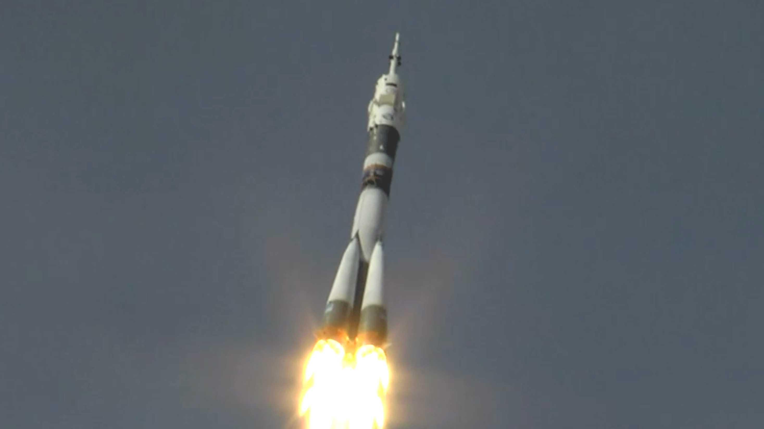 Alexander Gerst ist zur ISS gestartet