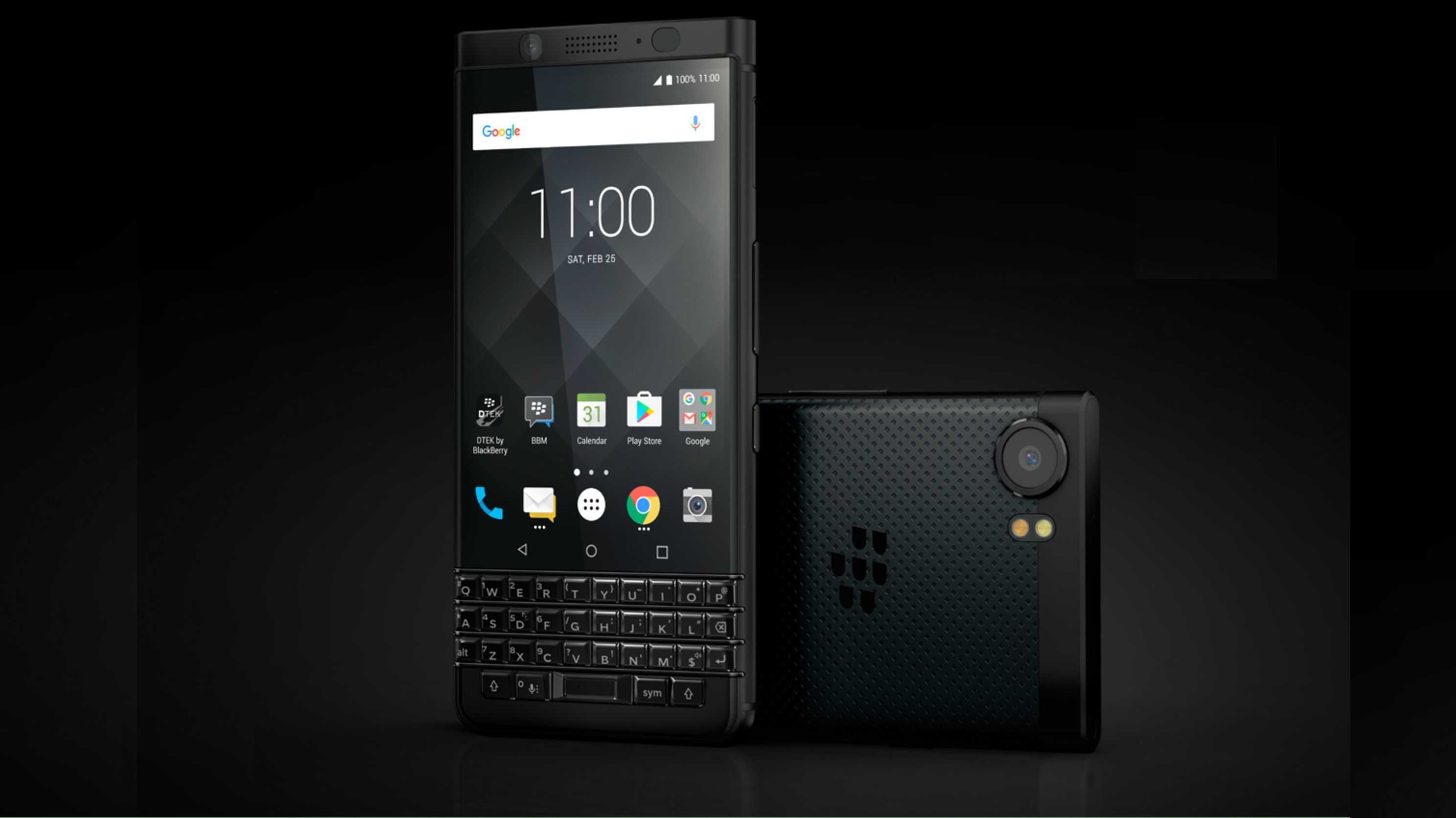 Blackberry KeyOne: Tastatur-Handy kommt in schwarz und mit mehr Speicher