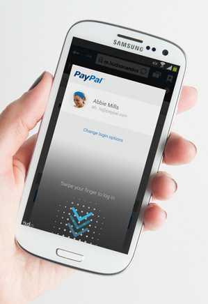 Smartphone mit Fingerabdruck-Identifizierung