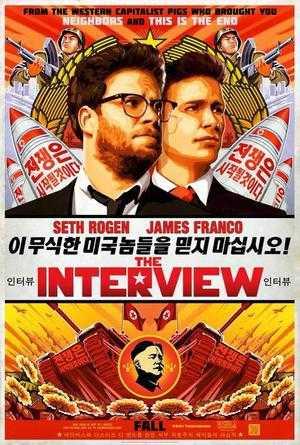Poster für The Interview