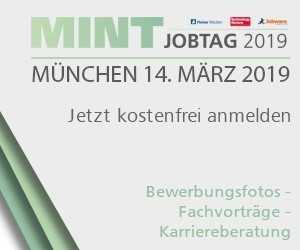 MINT-Jobtag in München als Karriere-Sprungbrett