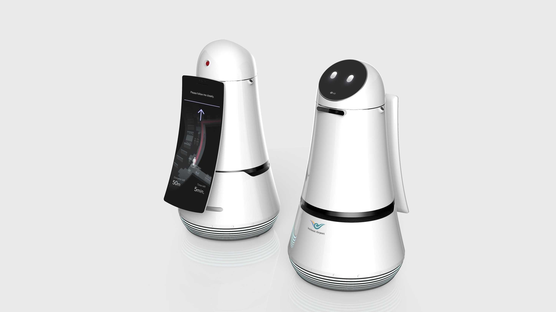 LG Roboter sorgen an Südkoreas größtem Flughafen für Sauberkeit und leichtere Orientierung