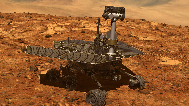 Mars-Rover Opportunity bleibt stumm: NASA hofft auf Winterstürme