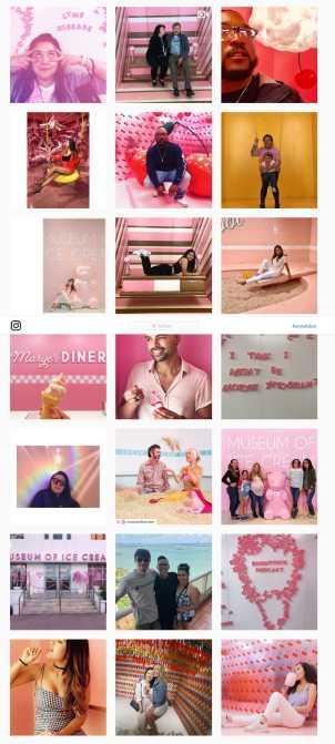 """Bildes aus dem """"Museum of Ice Cream"""" auf Instagram"""