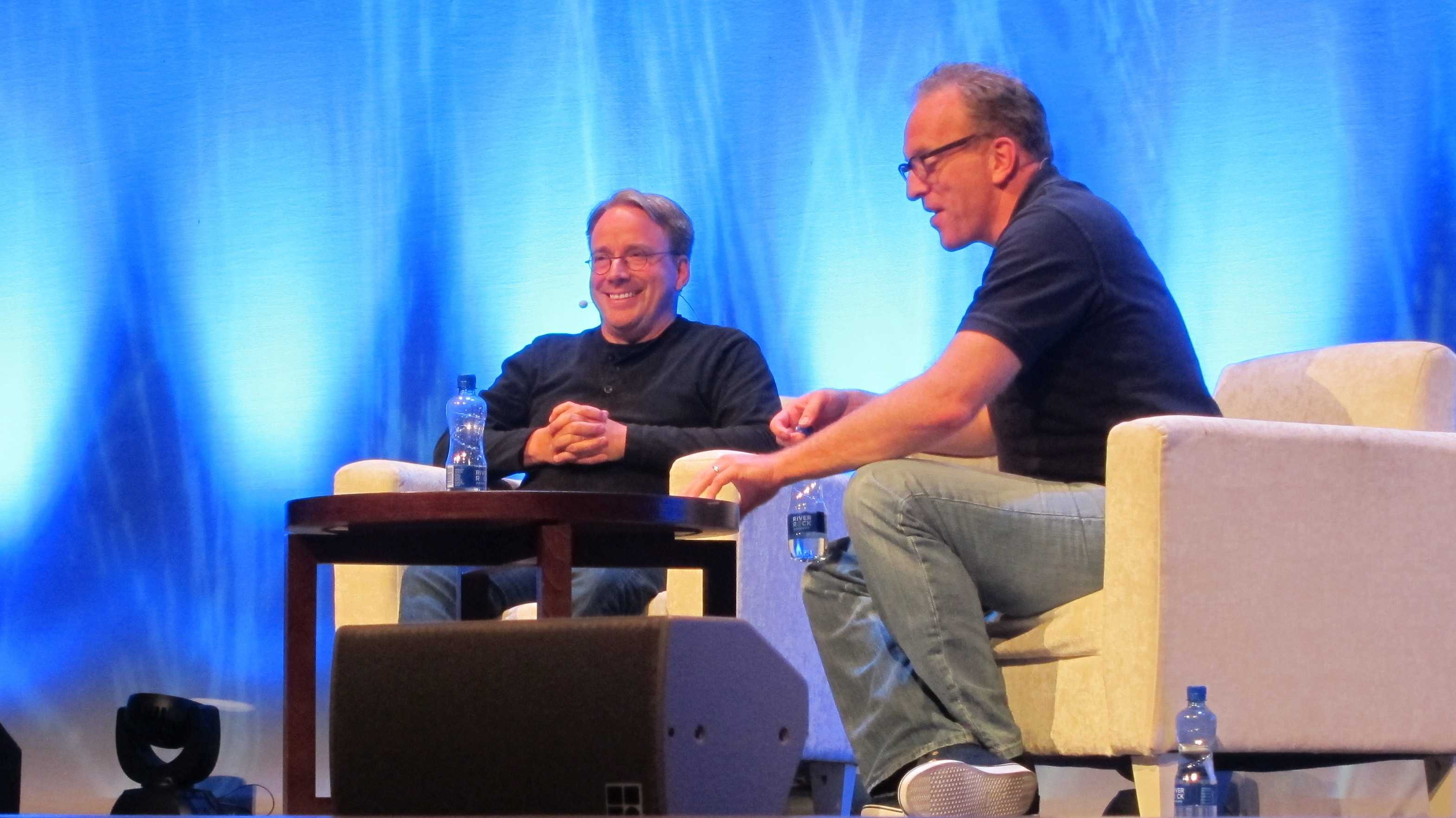 Linus Torvalds, Dirk Hohndel
