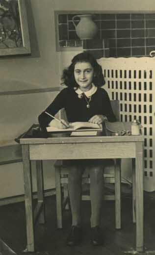 Anne Frank im Jahr 1940