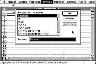 Eine schnelle Tabelle mit Excel.