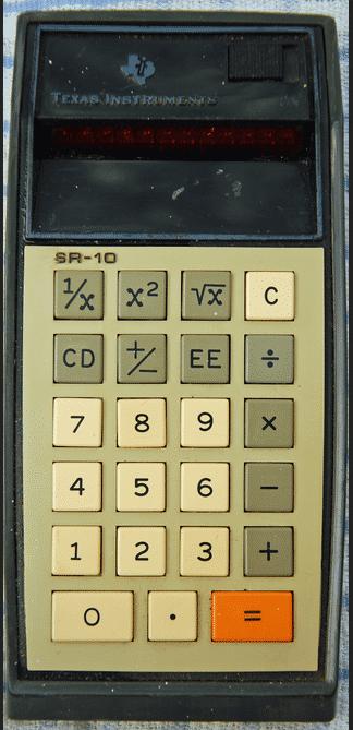 Frage 3: Passend ein starkes Stück Hardware von Texas Instruments. Mit welchem Slogan warb die Firma?